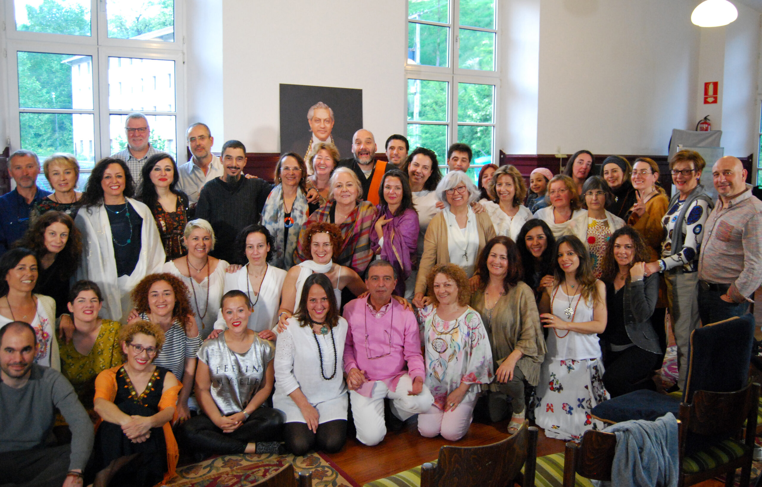 Group Picture of the teachers of the Spanish Meditation Society and Fundacion IFSU in Spain