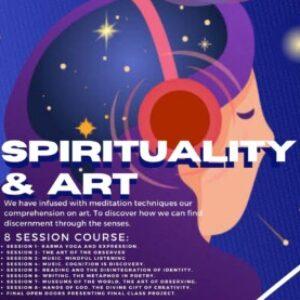 Group logo of Spirituality  &  Art. Professor: Jeeru Leonato. Start date: 23rd May. 12pm